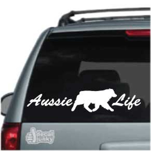 Aussie Life Decal Car Window Decal
