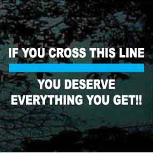 If You Cross This Line