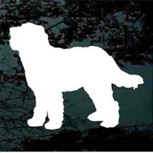 Goldendoodle Silhouette Window Decal
