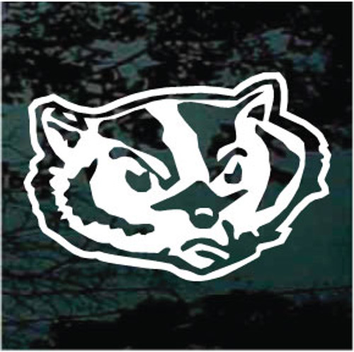 Badgers Mascot Decals
