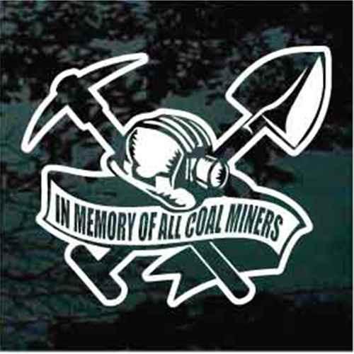 Coal Miner Banner Memorial