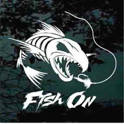 Fish On Fish Skeleton