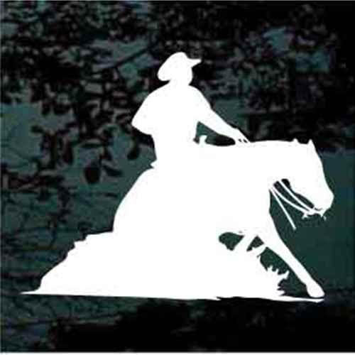 Horse Reining Cowboy Rider