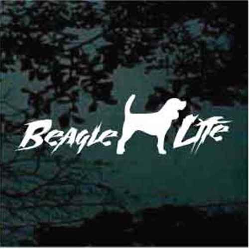 Beagle Life Decal