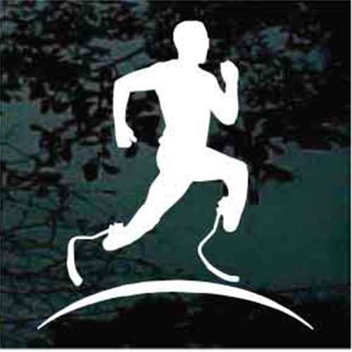 Paralympic Runner Decals