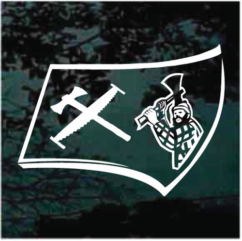 Timbersports Axe Head Decals