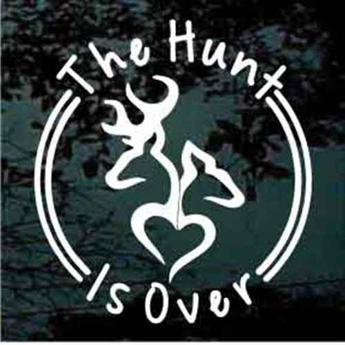 The Hunt Is Over Deer