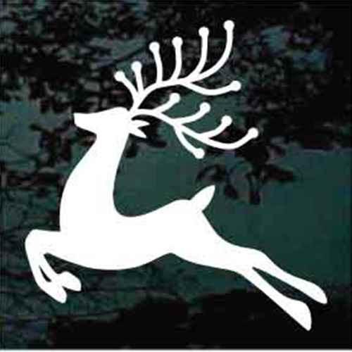 Decorative Reindeer Window Decal