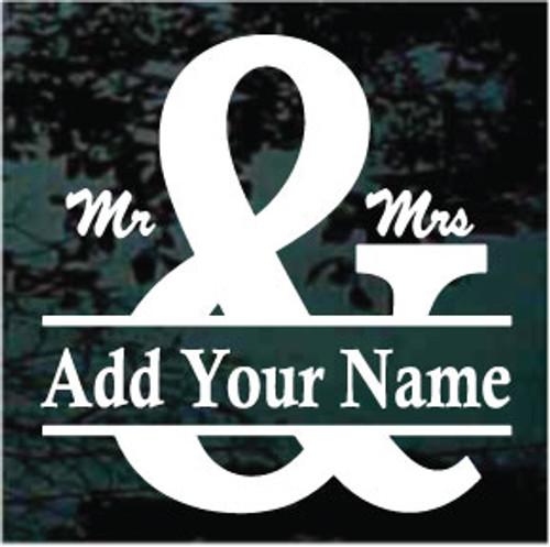 Mr. & Mrs. Name Border