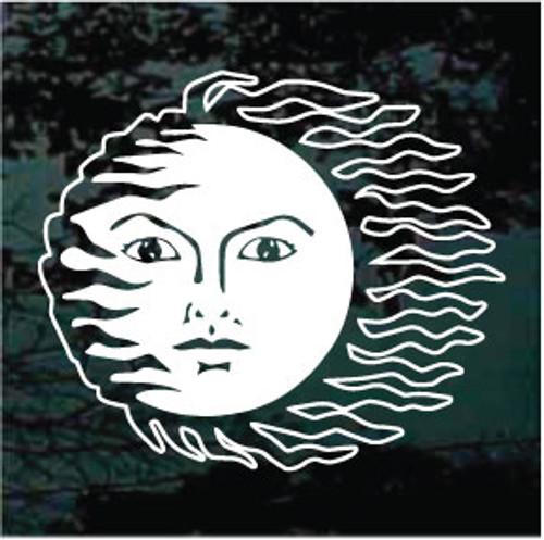 Celestial Sun Face