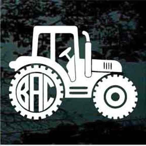 Tractor Monogram