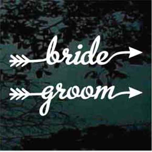 Bride Groom Arrows