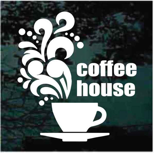 Coffee House Sign Decals