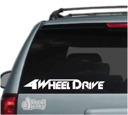 4-Wheel-Drive-Truck-Decals-Stickers