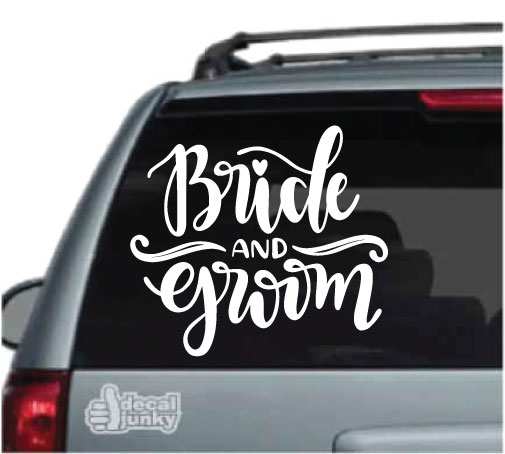 bride-groom-decals-stickers