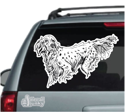 english-setter-decals-stickers