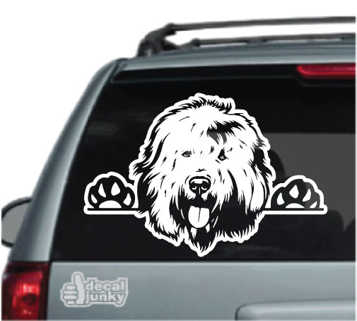 old-english-sheepdog-decals-stickers