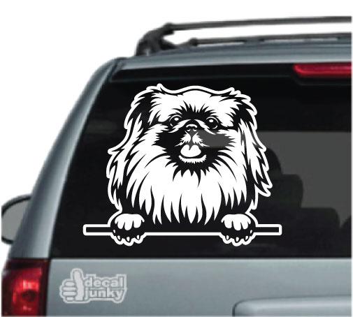 pekingese-decals-stickers