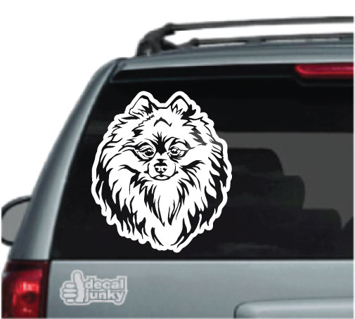 pomeranian-decals-stickers