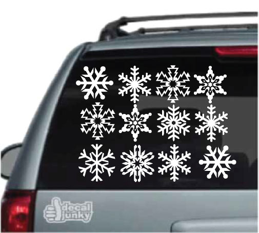 snowflake-decals-stickers