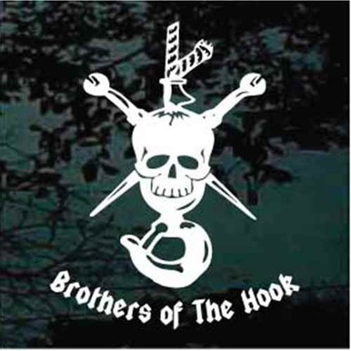 Brothers Of The Hook Decals Decal Junky Stick Em Up