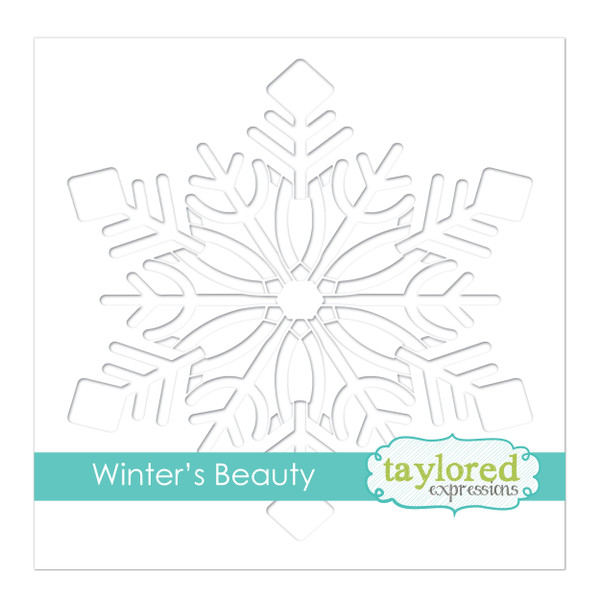Taylored Expressions Winter's Beauty Stencil