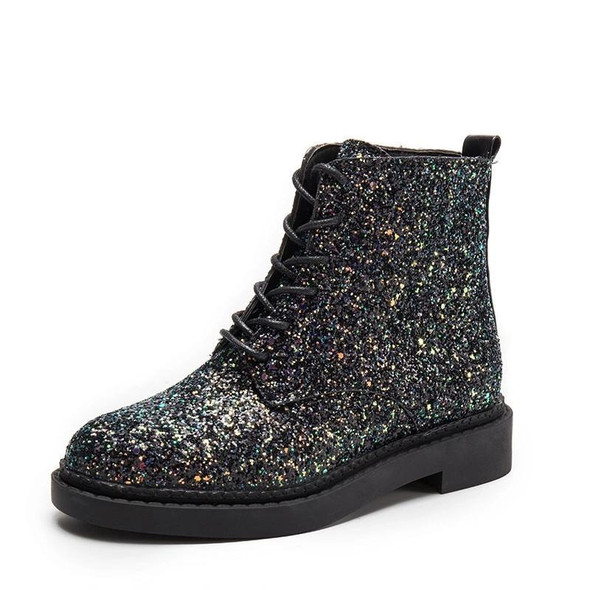 Women Ankle Boots Heels Female Shoes