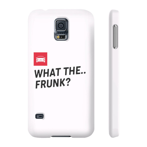 iPhone 6 - X Slim Case - what the frunk? (Shop at Teslament - High-quality products for Tesla owners and fans)