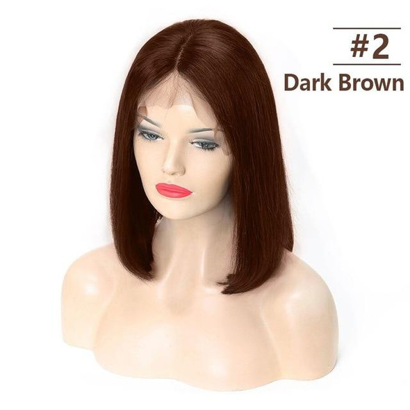 13x6 Bob Lace Front Pre Plucked Human Hair Wig