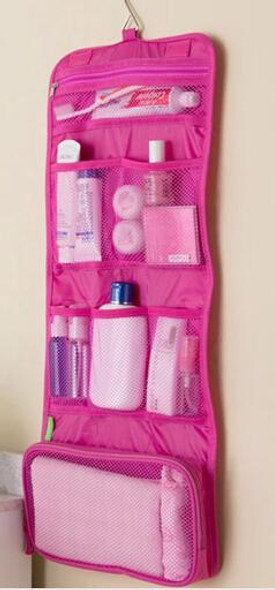 New 2017 Makeup Organizer Multifunctional Trousse De Maquillage Pouch Cosmetic Women Hanging Toiletry Bag Travel Cosmetic Bags