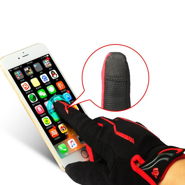Touch Screen Gel Cycling Gloves
