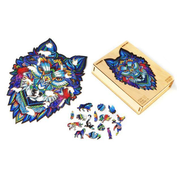 Wolf - DIY Wooden Jigsaw Puzzle