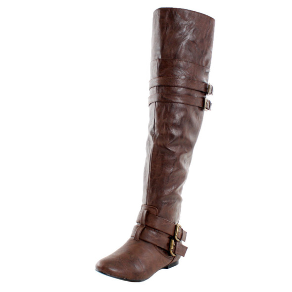 Vickie-16H Riding Over The Knee Boots