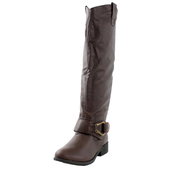 Plateau-17 Riding Knee High Boots