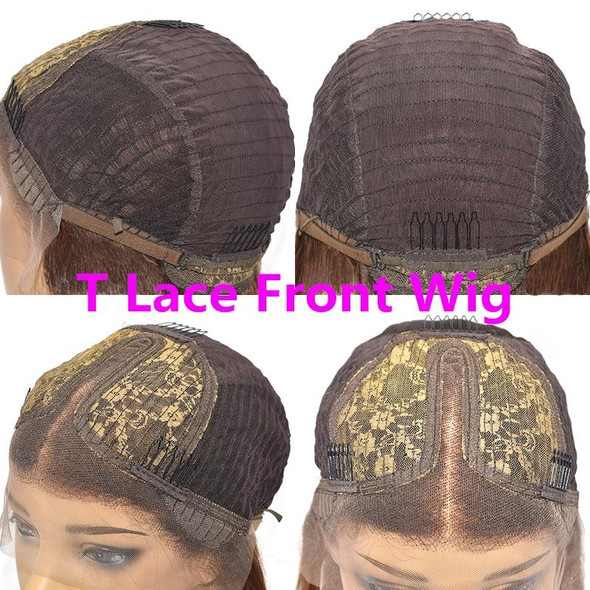 Honey Blonde Human Hair Lace Wig Preplucked Lace Closure Wig