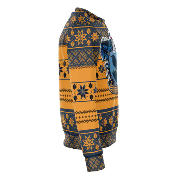 Harry Ugly Christmas Sweater - Blue / Beige