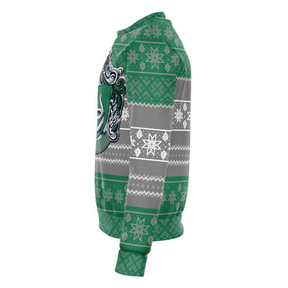 Harry Ugly Christmas Sweater - Green / Grey
