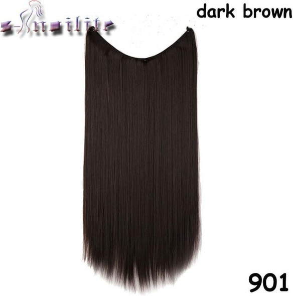 Invisible Hair Extension - 20 Inches with invisible wire & no clips