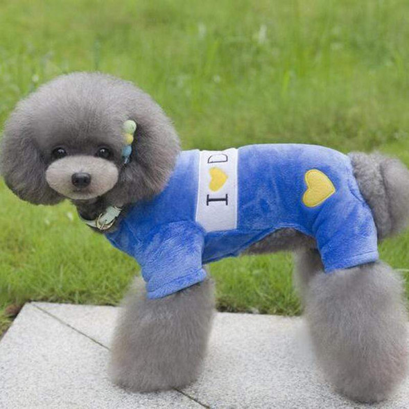 Cute I Love Daddy And Mommy Dog Coats