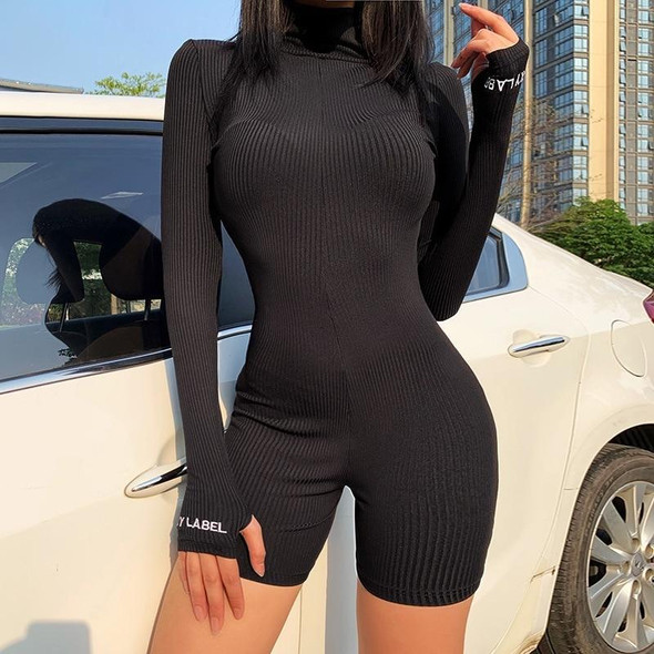 Activewear Unitard Jumpsuit With Long Sleeves
