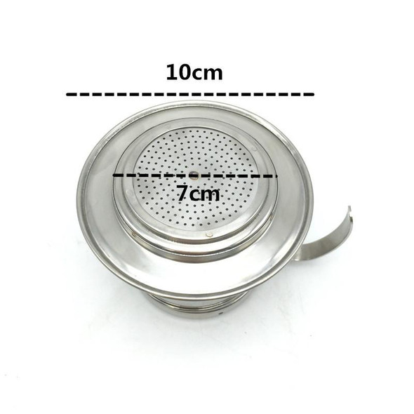 Free Shipping High quality 1-2 cup vietnam coffee dripper / vietnam coffee filter pot +100pcs vietnam coffee filter paper