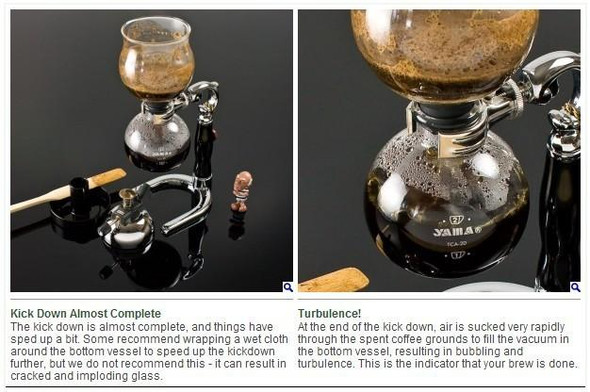 Household Glass Syphon Coffee Maker Siphon coffee maker for 3 cups/ DT-01
