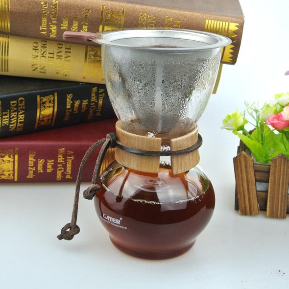 NEW ARRIVAL FREE SHIPPING  Woodneck Coffee Chemex Brewer 480CC 3-4cups Chemex coffee Maker