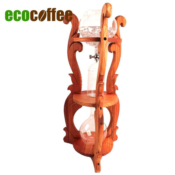 Eco Coffee 1 PC Free Shipping New Arrival BD-67  Ice Coffee Dutch Coffee Maker Brewer Dripper 6Cups