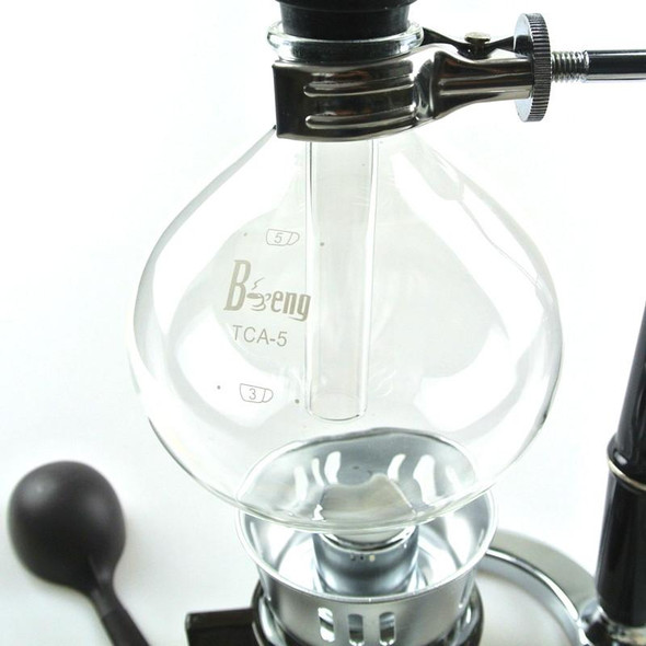 1PC  5Cups Coffee Tea Syphon Makers Coffee Siphon