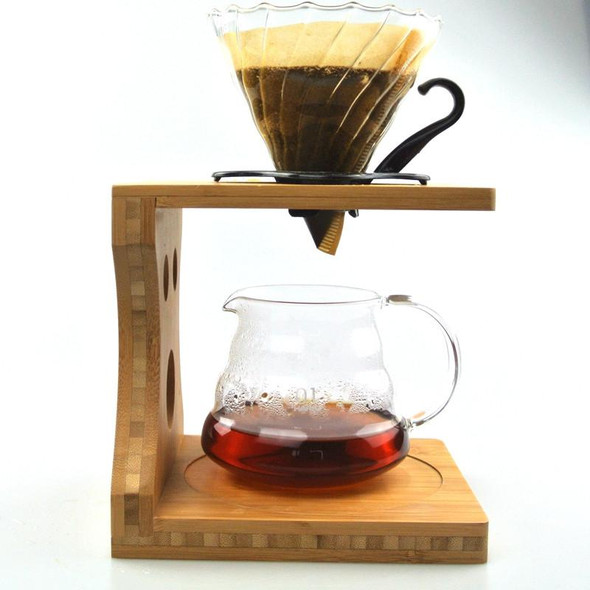 1 Set Free Shipping Bamboo Coffee Dripper Rack Coffee Makers Sets