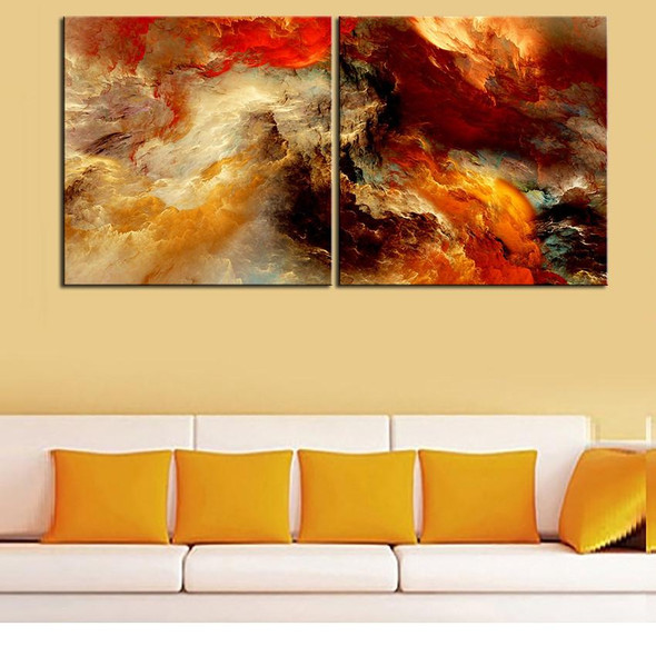 Large size 2pcs/set Print Oil Painting Wall painting NO2SET-7 Home Decorative Wall Art Picture For Living Room paintng No Frame
