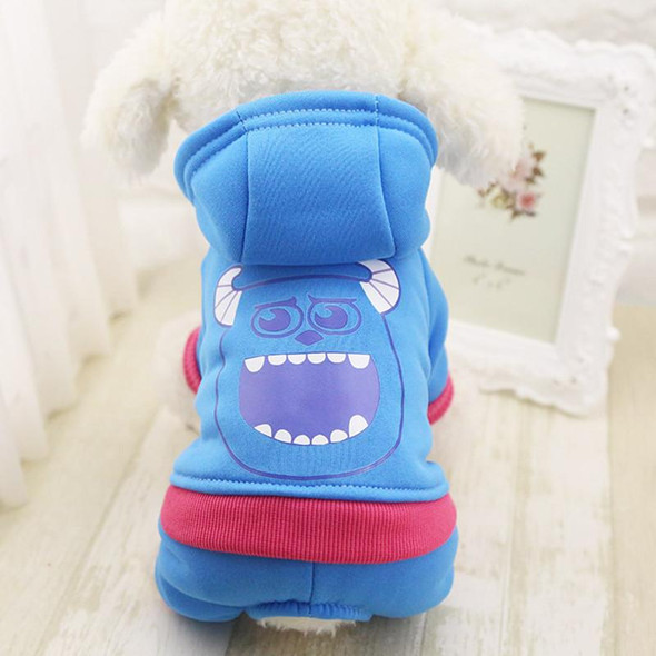 2016 New Dog Hoodies Warm Winter Dog Clothes Fleece Dogs Costume Cute Pet Coat Jacket Autumn Jumpsuit Clothing for Puppy Dogs