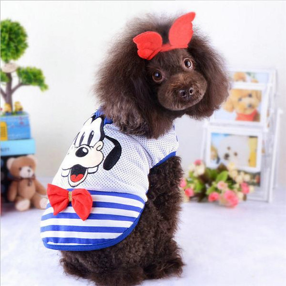 2016 New Arrivals Mickey Pet Dog Clothes Summer Cute Pet Dog T Shirt Vest Summer Poodle Chihuahua Dog Shirt Pet Products Clothes
