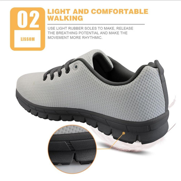 Breathable Men Mesh Lace Up Striped Spring Autumn Flats Sneakers